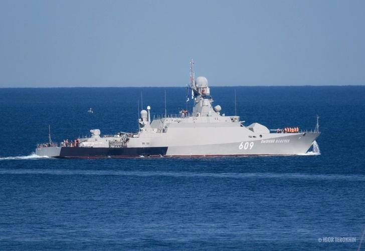 МРК «Вышний Волочёк» ушёл в Средиземное море