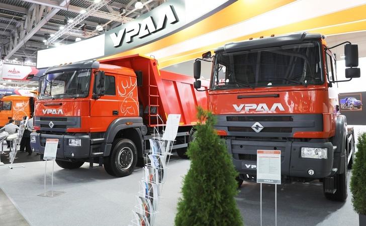 «Урал С35510» и седельный тягач