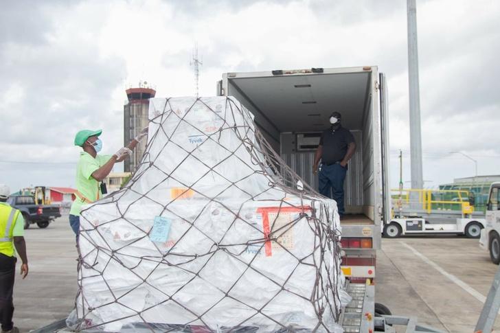 В Гайану доставлена вторая партия вакцины «Спутник V»