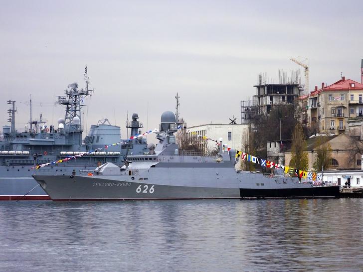 МРК «Орехово-Зуево» передан ВМФ России