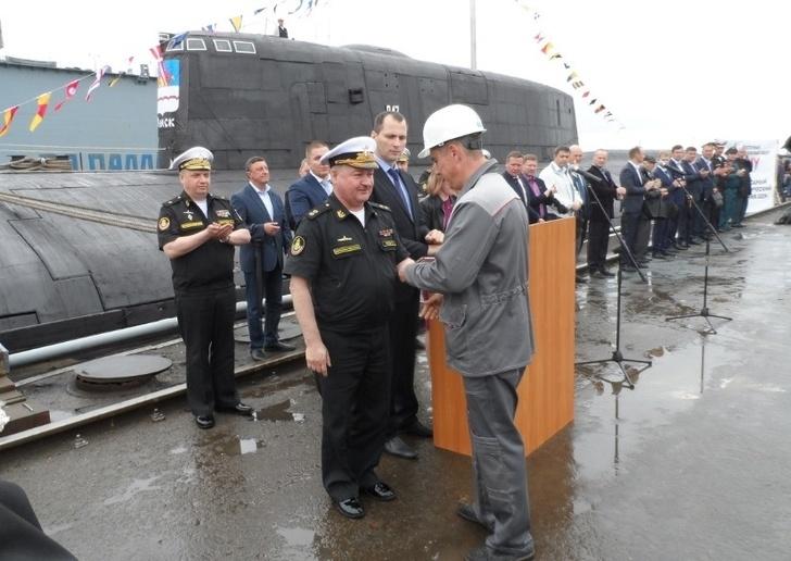 АПРК «Омск» передан ВМФ после ремонта