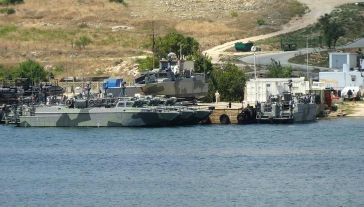 Катера БК-16 и БК-18 Черноморского флота