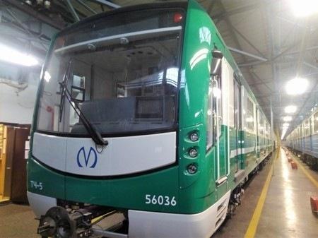 Петербургский метрополитен получил 18-й состав «НеВа»