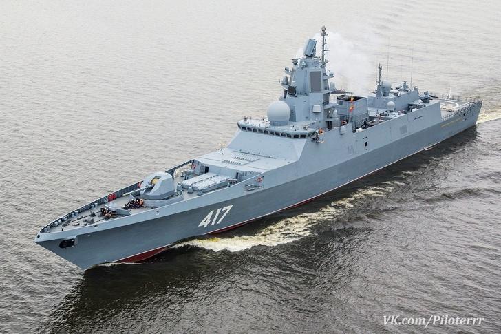 Фрегат «Адмирал Горшков» ушёл в Североморск