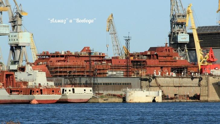 Строительство судов на ПСЗ «Янтарь»