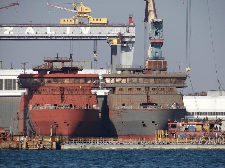 Строительство кораблей на ССЗ «Залив»