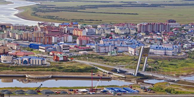 фото города тарко-сале