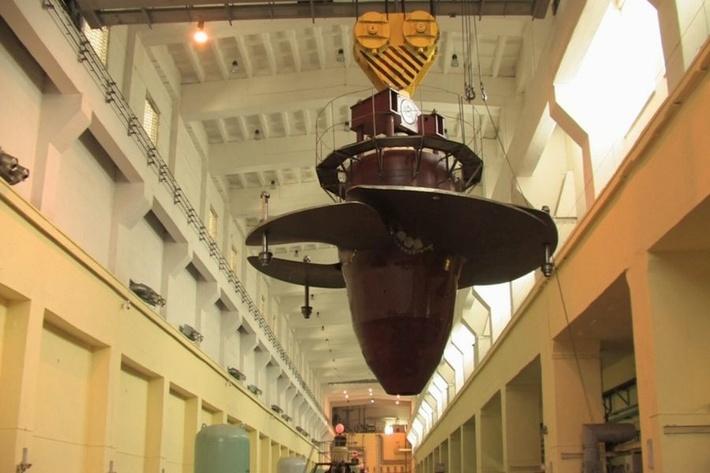 Гидроагрегат Новосибирской ГЭС