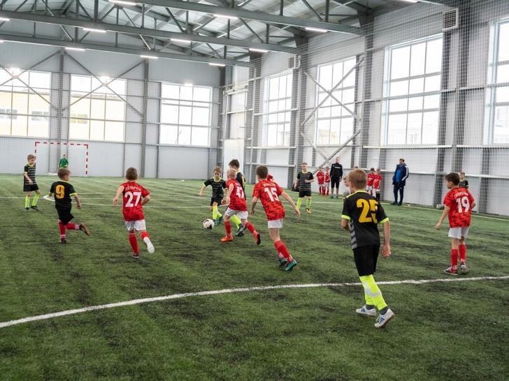 В Курской области открылся футбольный манеж «Альтаир-арена»