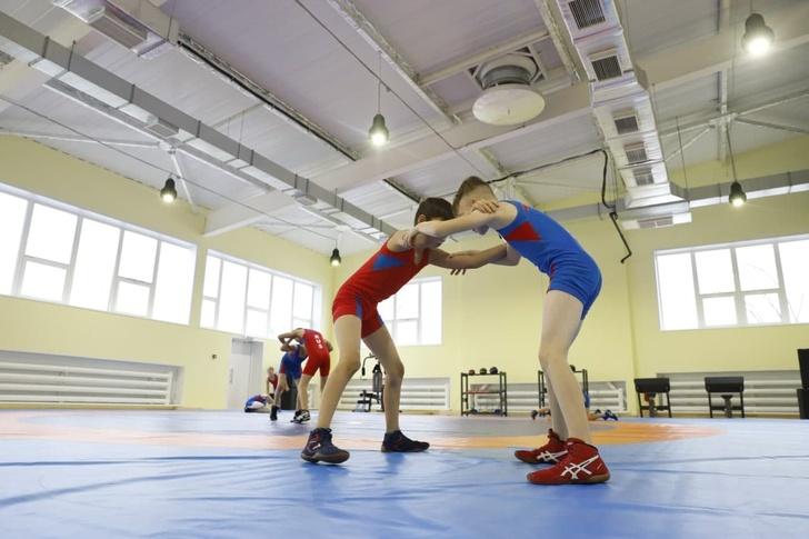 В регионах открыты новые спортивные объекты 9 часть