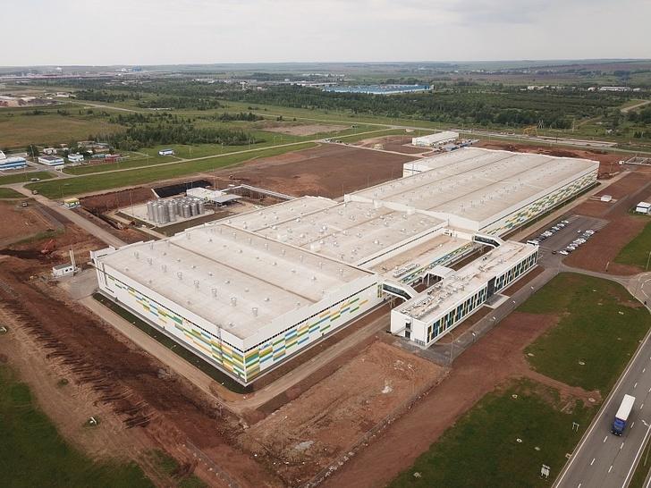 строительство завода «Август-Алабуга»