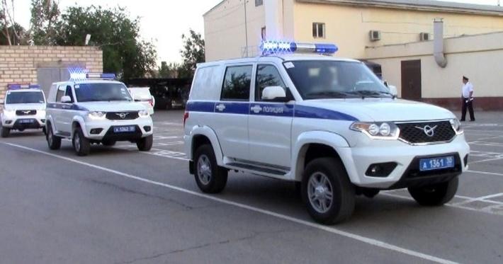 Астраханские полицейские получили новые автомобили
