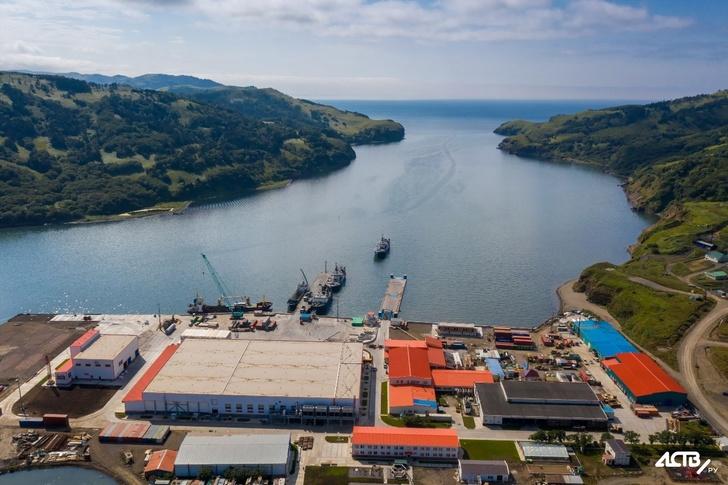 На Шикотане запустили рыбоперерабатывающий завод