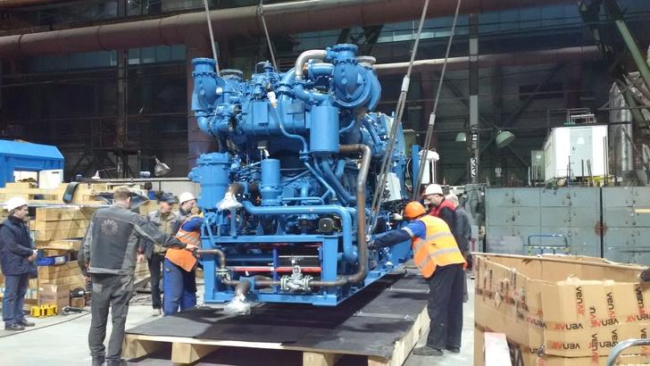 Упаковка дизель-генератора для отгрузки заказчику