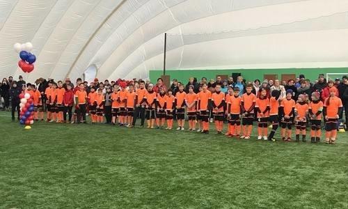 В Амурской области открыли первый круглогодичный футбольный манеж