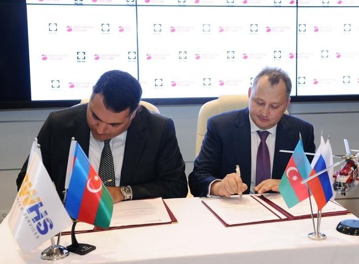 Silk Way Helicopter Services и холдинг «Вертолеты России» подписывают Соглашение о создании сервисного центра