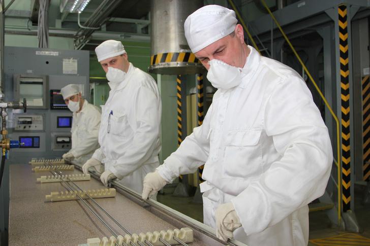 На Сибирском химическом комбинате изготовлены экспериментальные сборки со СНУП топливом