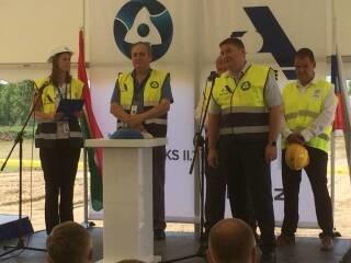На площадке сооружения АЭС «Пакш-2» (Венгрия) дан старт первым строительно-монтажным работам