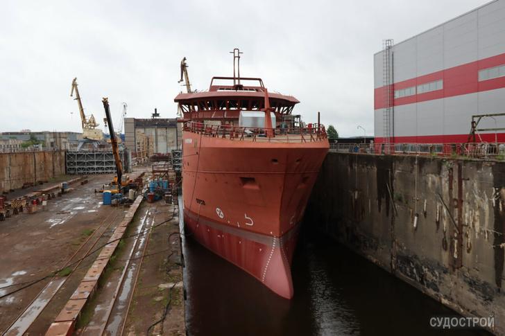 Выборгский судостроительный завод. Июль 2020 года / Фото: Судострой