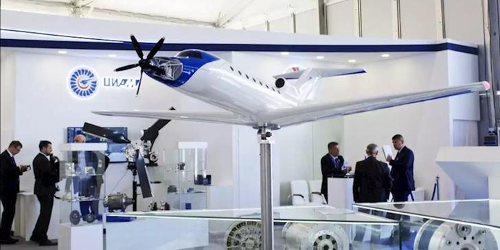 Як-40ЛЛ гибридная силовая установка