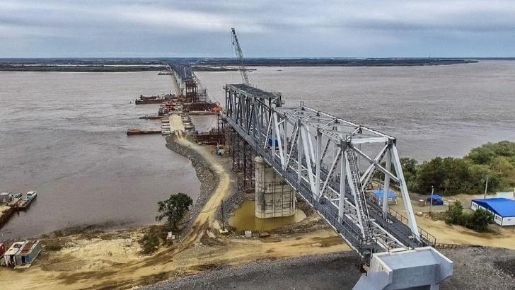 Строительство больших железнодорожных мостов