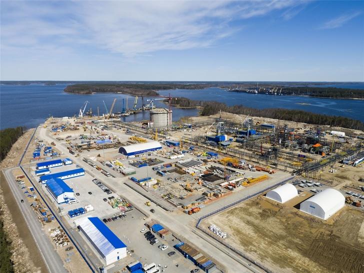 Строительство завода и терминала СПГ в Высоцке