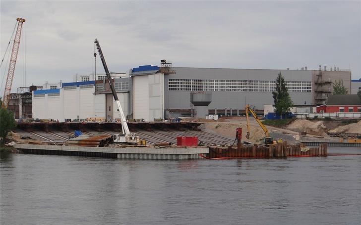 Реконструкция Средне-Невского судостроительного завода