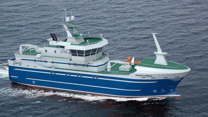 На «Северной верфи» заложили рыболовецкое судно