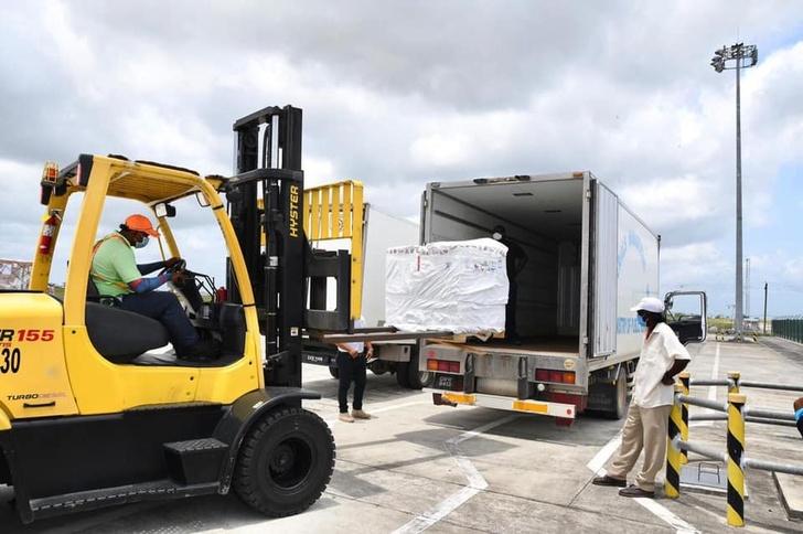 В Гайану доставлена третья партия вакцины «Спутник V»