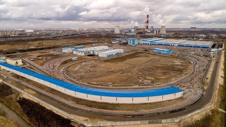 Электродепо «Южное» в Санкт-Петербурге