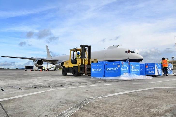 В Гайану доставлена пятая партия вакцины «Спутник V»