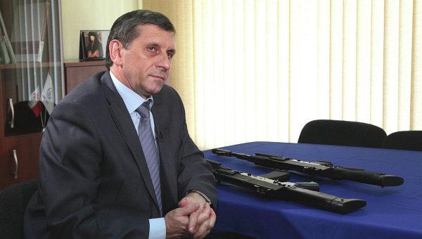 """Главный конструктор НПО """"Ижмаш"""" Владимир Злобин"""