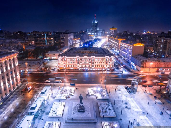 свет фото москвы зимой с высоты смешарики
