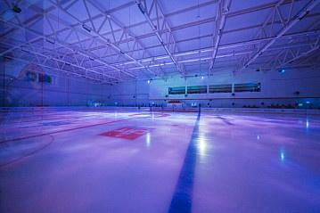 Открытие крытого хоккейного корта «Урай Арена»