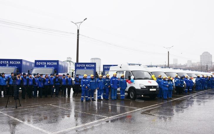 Новые машины получили районные подстанции СМП и Чувашский филиал Почты России