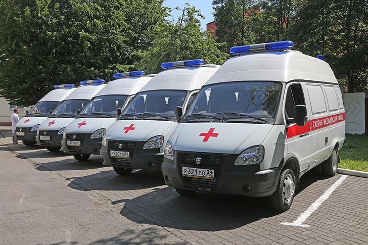 В регионе на линию вышли девять новых машин скорой медицинской помощи
