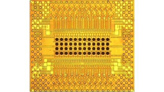 Оптический микрочип компании IBM,