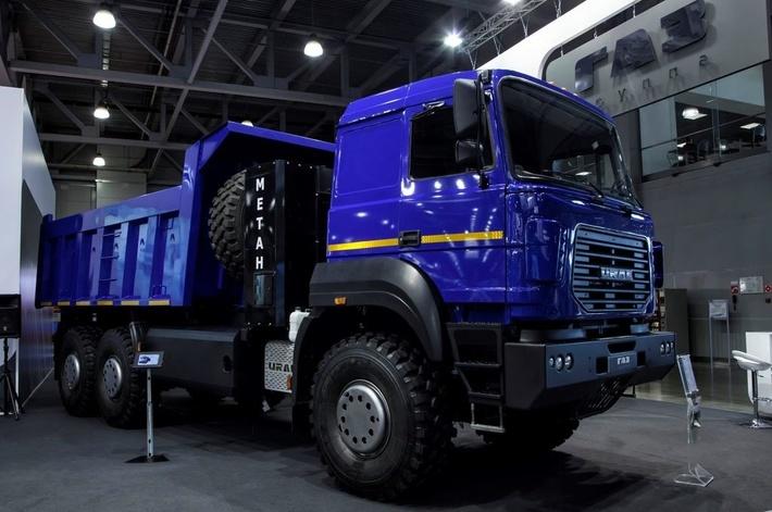 Автомобиль Урал на метане
