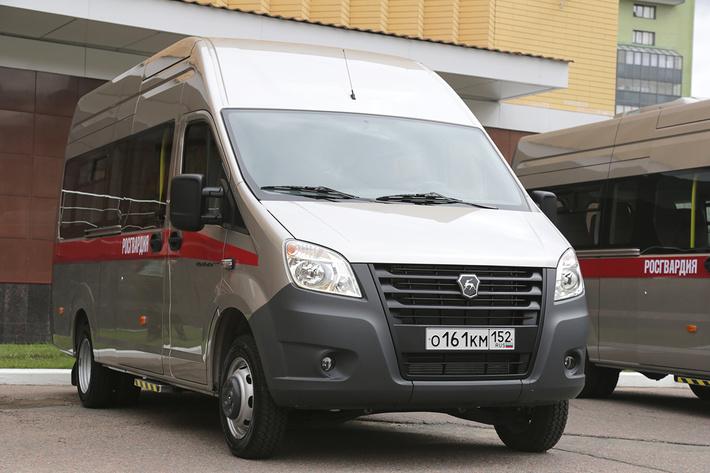 микроавтобус нового поколения «ГАЗель NEXT»