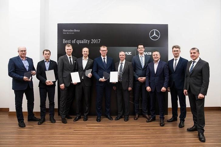 Daimler AG наградил «Премией качества» Ярославский моторный завод «Автодизель» «Группы ГАЗ»