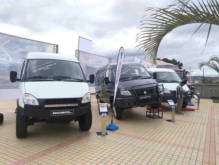 «Группа ГАЗ» представила линейку полноприводной техники на Мадагаскаре
