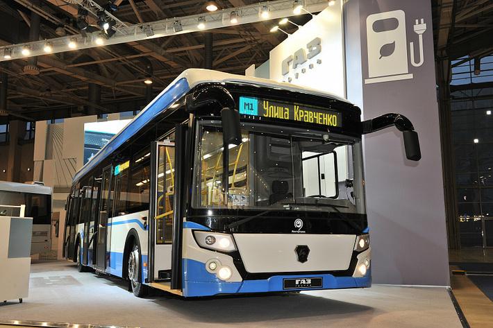 «Группа ГАЗ» представила электробус нового поколения