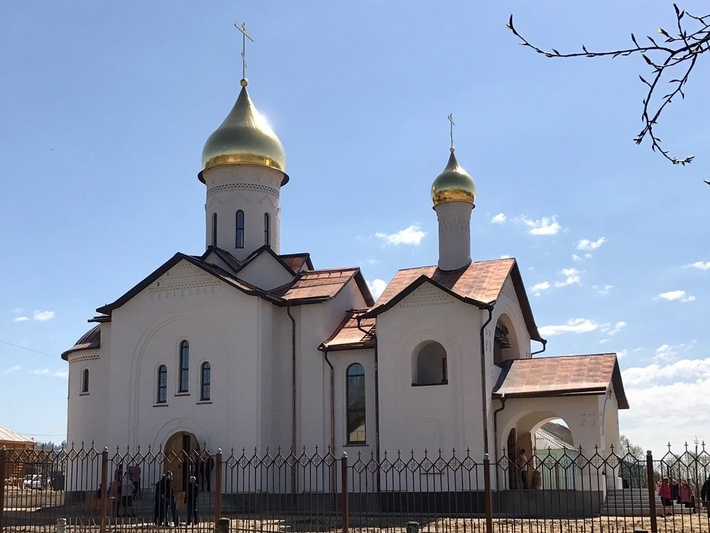 В Мордовии освящен уникальный храм по образцу церкви 16 века