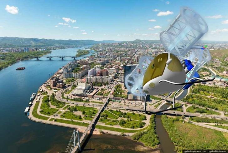 В Красноярске изобрели летательный аппарат