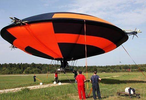Летающая модель дирижабля