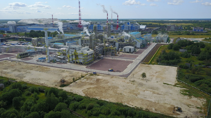 Завод по производству аммиака Еврохим