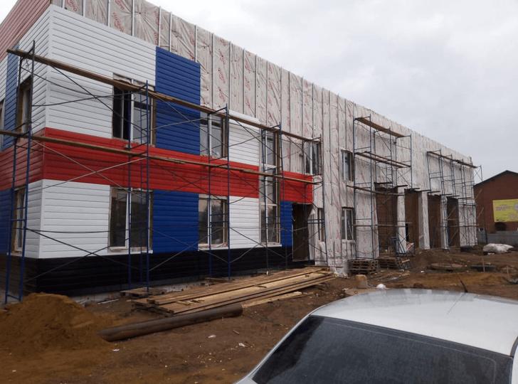 строительство нового пожарного депо с. Кушнаренково