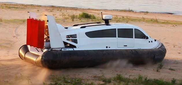 Новое судно на воздушной подушке Кайман