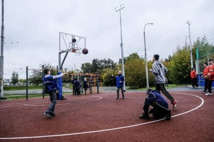 В Екатеринбурге появились новые спортивные площадки