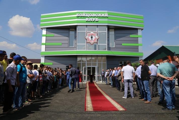 В Грозном открыт спортивный зал Федерации тайского бокса
